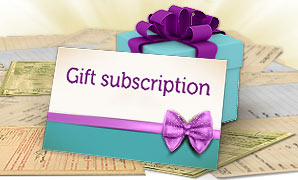 Genes Reunited gift subscription